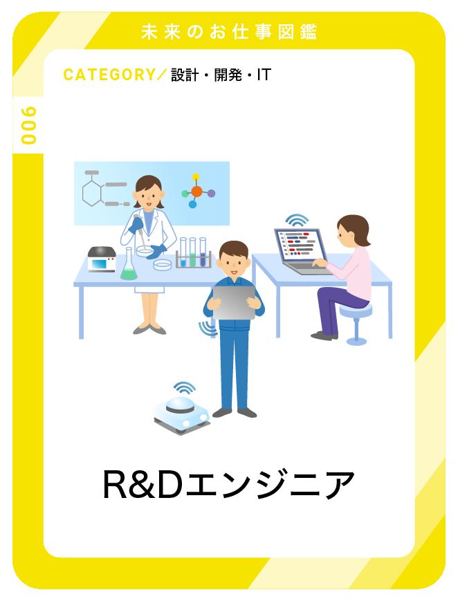 R&Dエンジニア