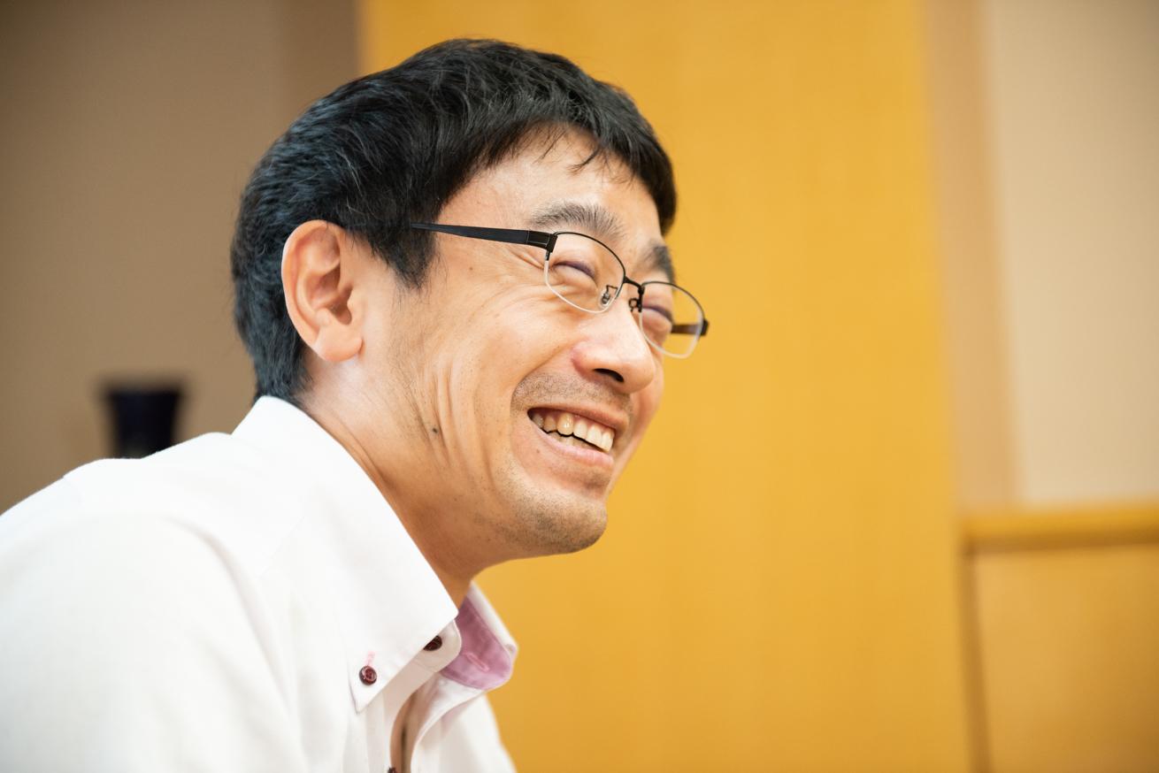 破顔一笑の菊田さん