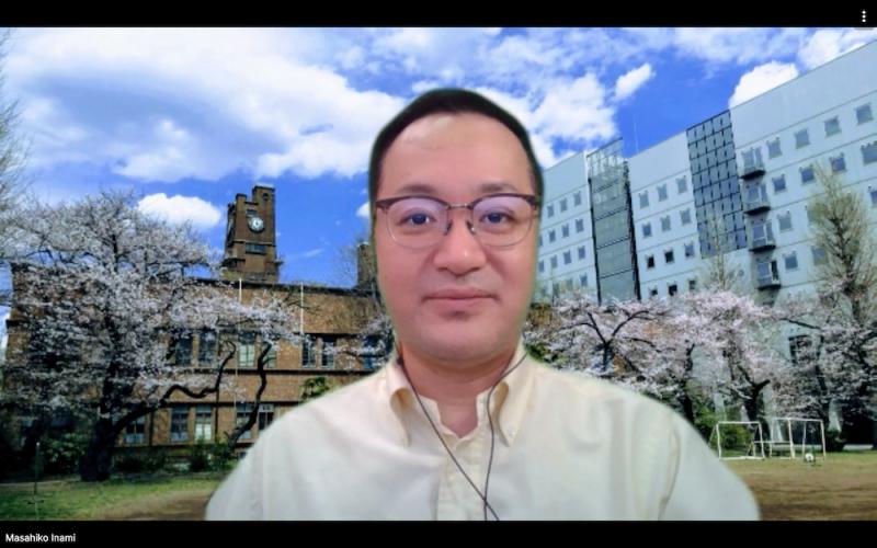 稲見昌彦先生